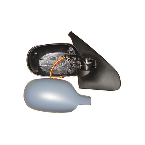 Renault Clıo- 02/08 Kapı Aynası Sağ Elektrikli Isıtmalı/Sensörlü