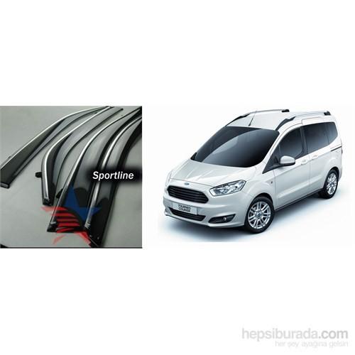 Sportline Nikelaj Hatlı Ford Courier 2 Kapı Rüzgarlık Seti 42XB114