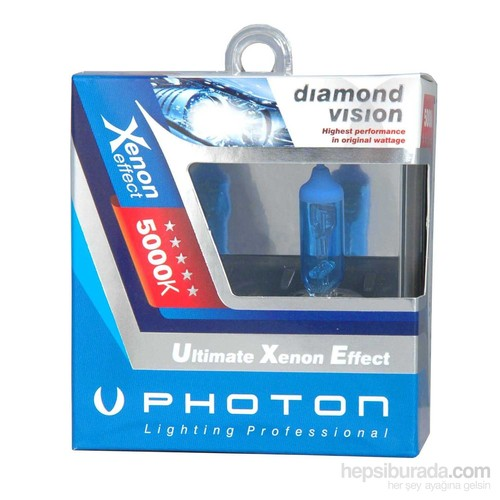 Photon Xenon Ampul 12V HB4 9006 5000K PH5596 DV CD