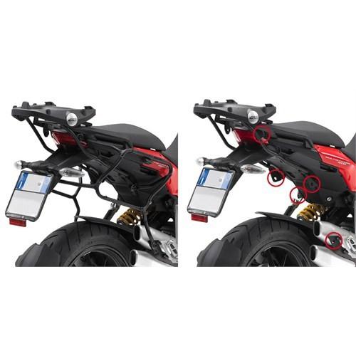 Gıvı Plxr312 Ducatı Multıstrada 1200 (10-14) Yan Çanta Tasıyıcı