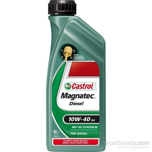 Castrol Magnatec Diesel 10w40 - B4 - 1 Lt - Dizel Motor Yağı