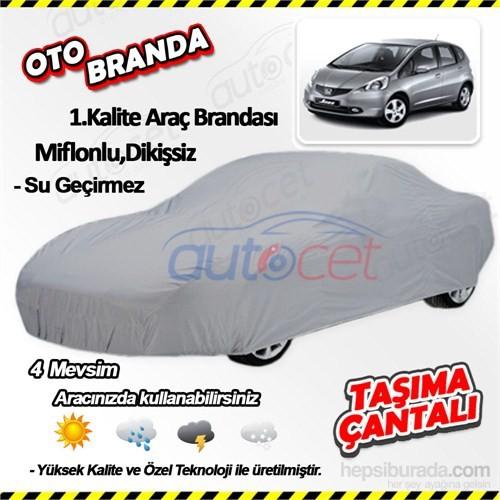 Autocet Honda Jazz Araca Özel Oto Brandası (Miflonlu, Dikişsiz) 4015A