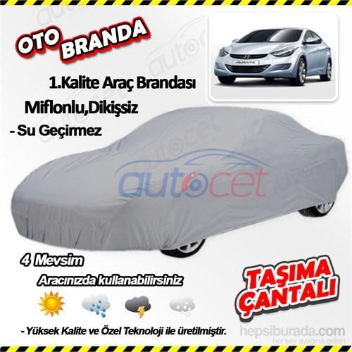 Autocet Hyundai Elantra Araca Özel Oto Brandası (Miflonlu, Dikişsiz) 4019A