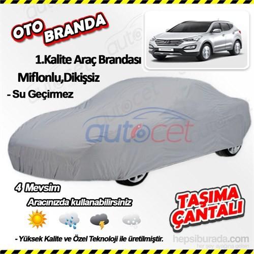 Autocet Hyundai Santa Fe Araca Özel Oto Brandası (Miflonlu, Dikişsiz) 4029A