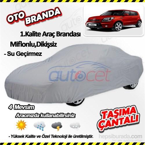 Autocet Kia Soul Araca Özel Oto Brandası (Miflonlu, Dikişsiz) 4042A
