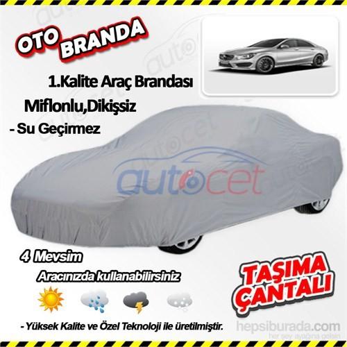 Autocet Mercedes Cla Serisi Araca Özel Oto Brandası (Miflonlu, Dikişsiz) 4053A