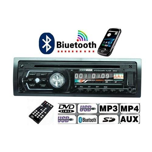 Raymos Rdv-2010 Bt Dvd/Cd/Mp3/Wma/Usb/Sd /Bluetooth