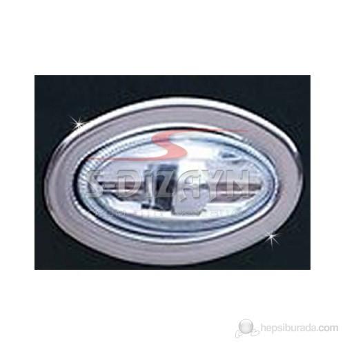 S-Dizayn Citroen Berlingo Sinyal Çerçevesi 2 Prç. P.Çelik (09.1996-09.2008)
