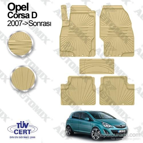 İmage Opel Corsa D Oto Paspas Bej
