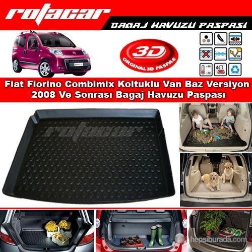 Fiat Fiorino Combimix Koltuklu Van Baz Versiyon 2008 Ve Sonrası Bagaj Havuzu Paspası BG045