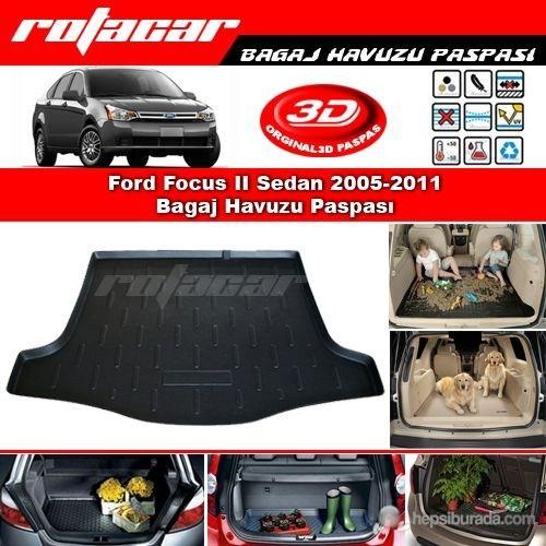 Ford Focus II Sedan 2005 2011 Bagaj Havuzu Paspası BG062