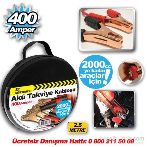 Automix Takviye Kablosu 400 Amp %100 Bakır