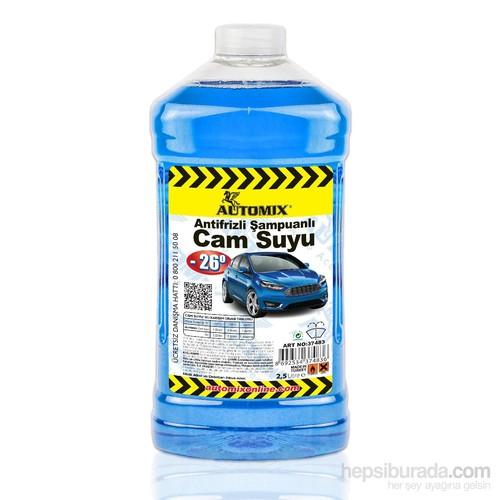 Automix Antifrizli Şampuanlı Cam Suyu 2500ml