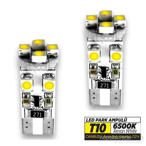 Jsv Park Led Ampül T10 4 Led 6500K Canbuslı