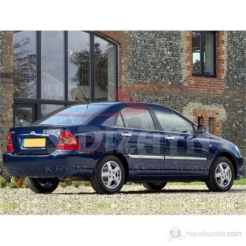 S-Dizayn Toyota Corolla Cam Çıtası 4 Prç. P.Çelik (HB / SEDAN) (2002-2007)