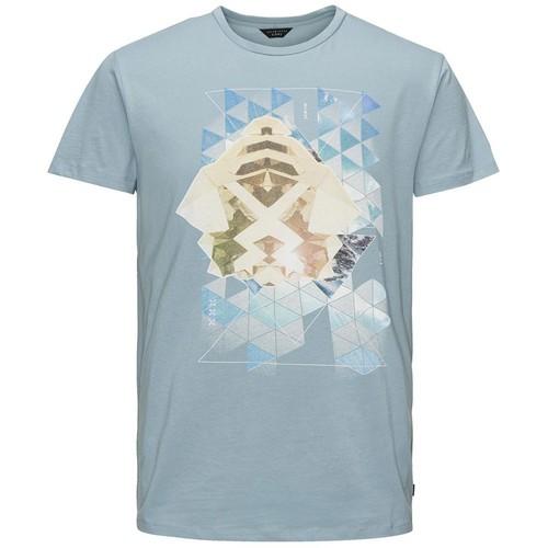 Jack & Jones T-Shirt Jjcoserenity Ss Crewneck 12102091-Cıt