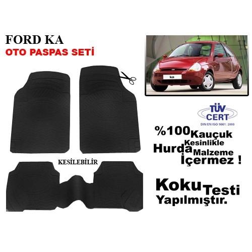 Automix Ford KA Oto Paspas Seti Siyah