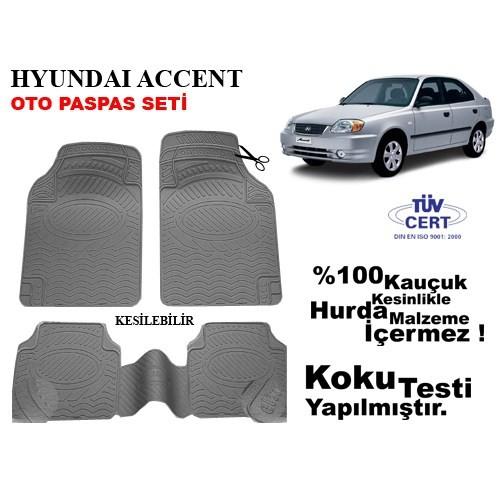 Automix Automix Hyundai Accent Oto Paspas Seti Gri