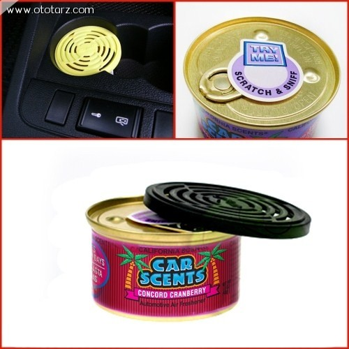 California Car Scents Concord Cranberry (Kızılcık) Kokusu (Made in U.S.A.)