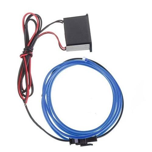 Tsc 1 Metre Neon Kablo Torpido İçin 12 Volt