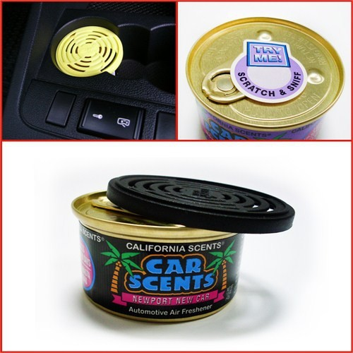 California Car Scents Yeni Araba Kokusu (Made in U.S.A.)