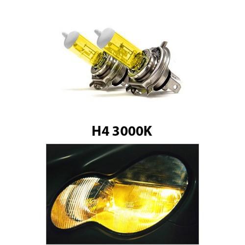 Gliptone Super Yellow H4 JDM Sitili Sarı Ampul Seti