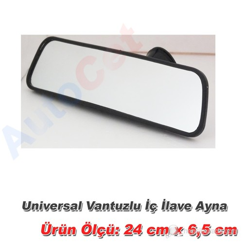 AutoCet Universal Vantuzlu iç ilave Aynası (51471)