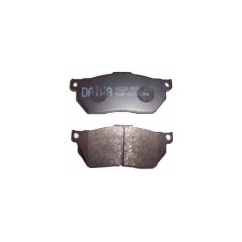 Honda Cıvıc- Sd/Hb- 92/95 Ön Fren Balatası Düz Tip