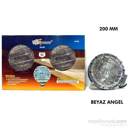 Space Sis Lambası Oval 200Mm 2Li(Beyaz Angel) Lass89