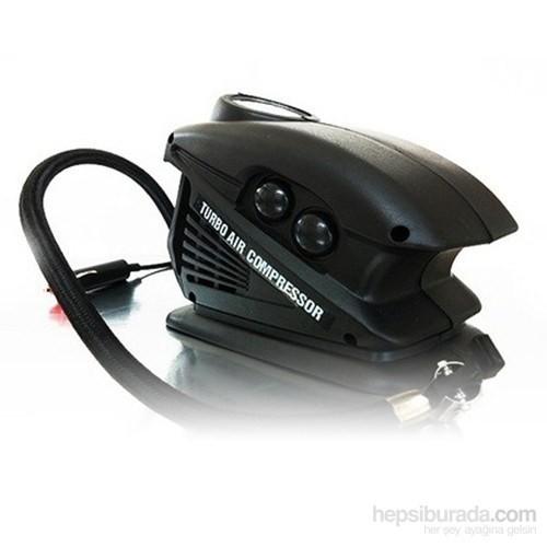 Araç Çakmaklık Girişli Otomatik Lastik Şişirme Pompası (250 PSI)