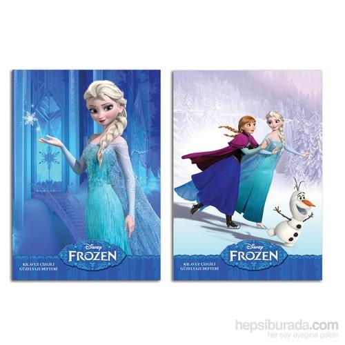 Keskin Color 280200-71 Frozen A4 Güzel Yazı Defteri 40 Yaprak