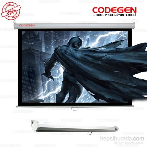 Codegen AX-20 200x200 Storlu İthal Projeksiyon Perdesi (Arkası Siyah Fonlu)