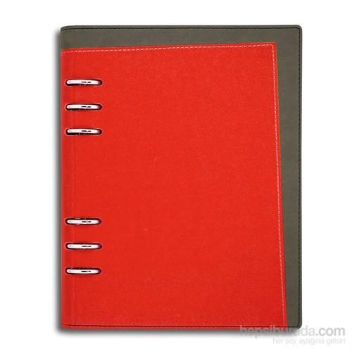 Liz B6 Lux Renkli Mekanizmalı Tarihsiz Ajanda Kırmızı
