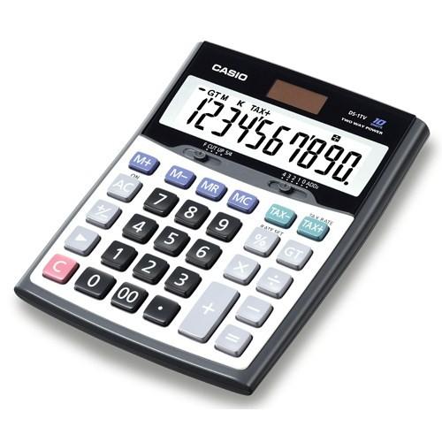 Casio DS-1TS Masaüstü 10 Haneli Profesyonel Hesap Makinesi