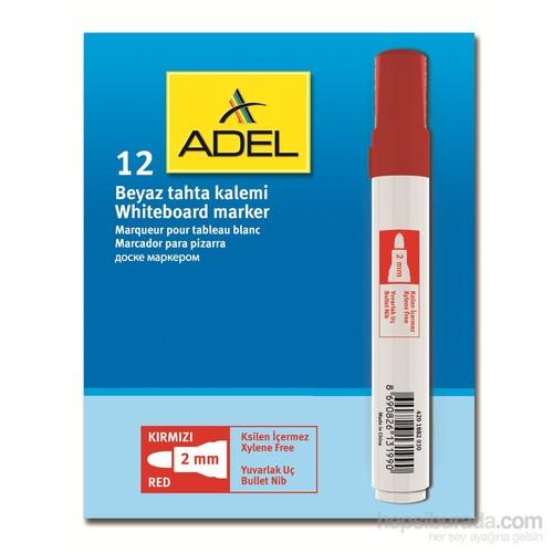 Adel Beyaz Tahta Kalemi, Kırmızı 12'li (4201882030)