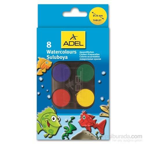 Adel Suluboya 8 Renk Küçük Boy (2290934000)