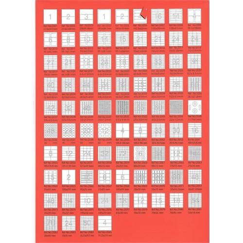 Bp A4 Lazer Etiket Ölçüleri 38,1 X 21,2 Mm 100 Sayfa Laser Yazıcı Etiketi