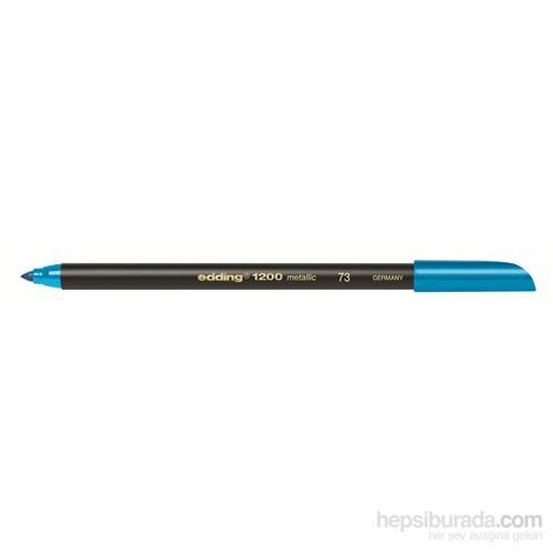 Edding Davetiye Kalemi Metalik Mavi