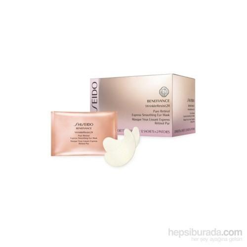 Shiseido Benefiance Wrinkleresist24 Pure Retinol Express Smoothing Göz Maskesi