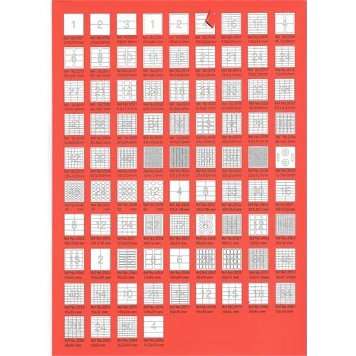 Bp A4 Lazer Etiket Ölçüleri 210 X 99 Mm 100 Sayfa Laser Yazıcı Etiketi