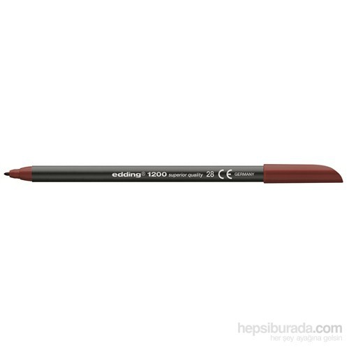 Edding Keçeli Kalem Koyu Kirli Kırmızı