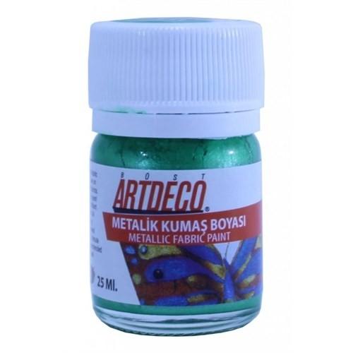 Artdeco Metalik Kumaş Boyası 227 Yeşil