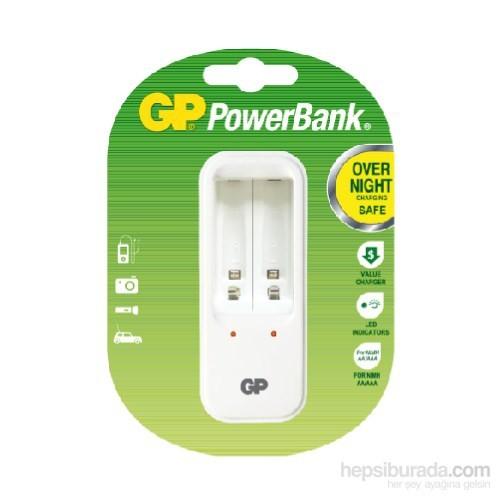 GP Powerbank GPPB410 2'li Pil Şarj Cihazı