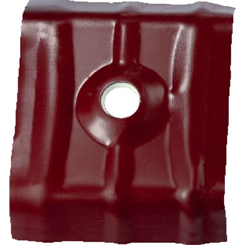Çetin 42X45 Kırmızı Alüminyum Trapez Semer 50 Adet