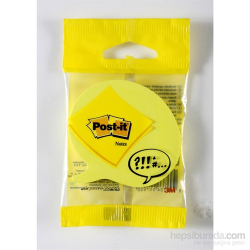 Post-it® Not, Konusma Balonu Seklinde, 75 yaprak