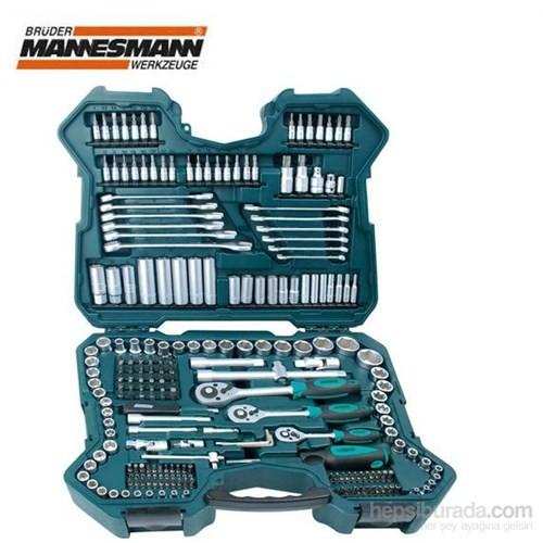 Mannesmann 98430 Profesyonel Lokma Anahtar Takımı (215 Parça, Metrik)