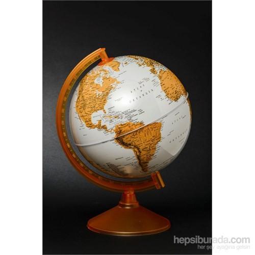 Gürbüz Dünya Küresi 26 cm (Turuncu)