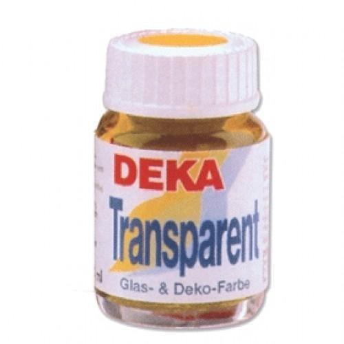 Deka Transparent Cam Boyası, 25 ml. şişe