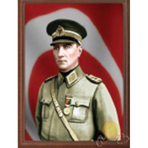 İnter 34x46cm Çerçeveli Atatürk Portresi INT-910-17