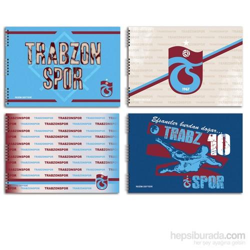 Keskin 300215-72 Trabzonspor 25x35 cm Resim Defteri 15 Yaprak